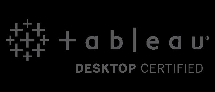 Tableau Desktop Certified Professional